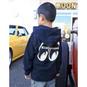 画像2: MOON Equipped インファント (幼児用) ジップ フーディー