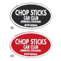 MOON Equipped CHOP STICKS CAR CLUB パッチ