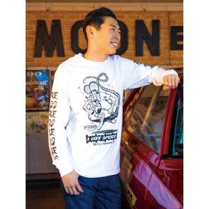画像1: Rat Fink x MOON Equipped ロング スリーブ Tシャツ