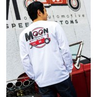MOON Equipped Red Roadster ロング スリーブ Tシャツ