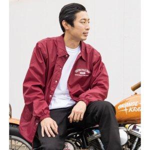 画像2: MOON Custom Cycle Shop コーチ ジャケット