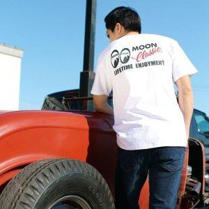画像1: MOON Classic Logo ポケット Tシャツ