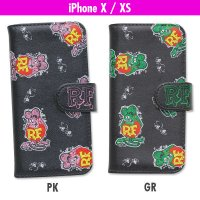 Rat Fink iPhone X, XS フリップ ケース