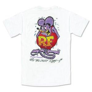 """画像2: ラット フィンク モンスター Tシャツ """"Purple Passion"""""""