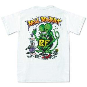 """画像2: ラット フィンク モンスター Tシャツ """"Mad Modeler"""""""