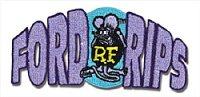 Rat Fink フォードリップス パッチ