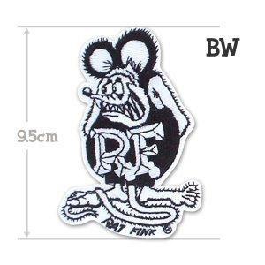 画像2: Rat Fink パッチ 9.5cm