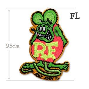 画像3: Rat Fink パッチ 9.5cm