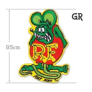 画像4: Rat Fink パッチ 9.5cm