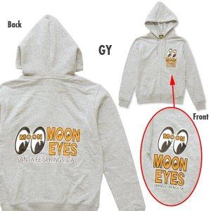 画像2: MOON Eyeshape Logo Light Zip パーカー