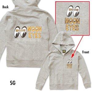 画像3: キッズ MOON Eyeshape Logo Light Zip パーカー