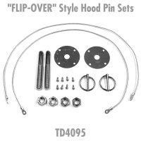 """FLIP-OVER"" Style Hood Pin Sets"