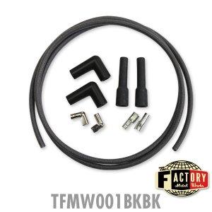 画像4: TFMW製 7mm Cloth Covered スパーク プラグ ワイヤーセット