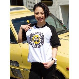 画像1: 横浜 ムーンアイズ 本牧 ラグラン Tシャツ