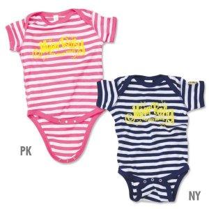 画像2: MOON Stripe Baby ロンパース