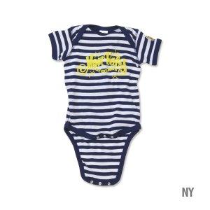 画像4: MOON Stripe Baby ロンパース