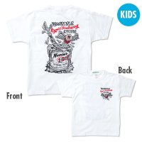 Kids & Ladies ピンストライプ ステューディオ Tシャツ