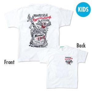 画像1: Kids & Ladies ピンストライプ ステューディオ Tシャツ