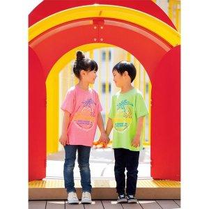 画像1: キッズ & レディース MOON ネオン サイン Tシャツ