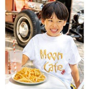 画像1: キッズ MOON Cafe フレンチ フライ フォト Tシャツ
