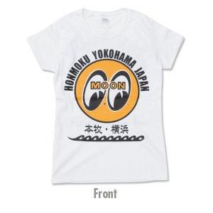 画像2: MOON EYEBALL 本牧 ・ 横浜 Ladies T シャツ