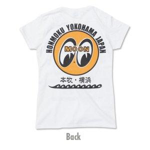 画像3: MOON EYEBALL 本牧 ・ 横浜 Ladies T シャツ