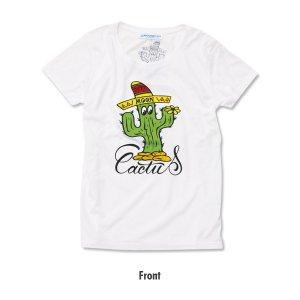 画像4: レディース MOON Cactus Tシャツ