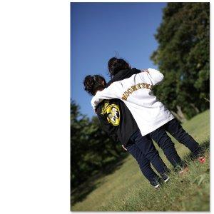画像2: キッズ & レディース MOON ロングスリーブ T シャツ
