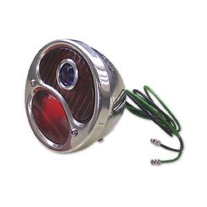 画像1: 28 to 31 Tail Lamp Assy with Blue Dot