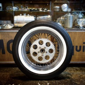 画像2: ホワイトリボン モーターサイクル用 (WW14MO)