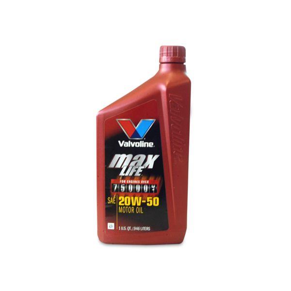 VALVOLINE MAX LIFE Engine Oil 20W-50