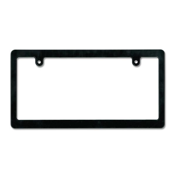 MOONEYES Black License Frame (Plain Small)