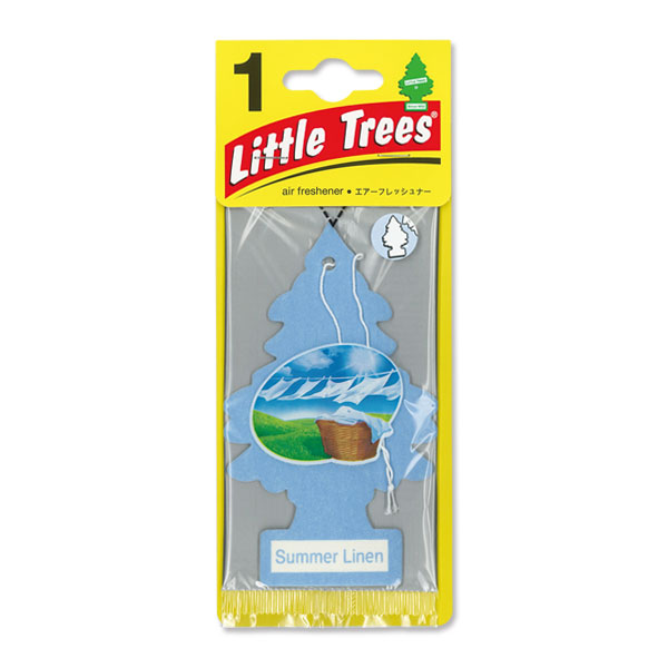 Little Tree Paper Air Freshener Summer Linen