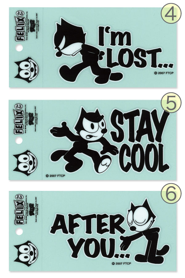 Felix Deco Stickers