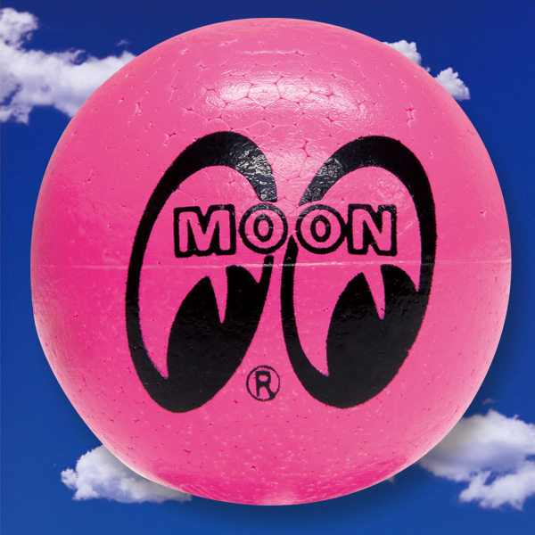 MOONEYES Antenna Ball Neon Pink