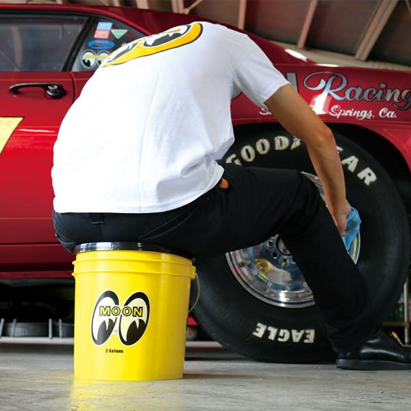 MOON Bucket (2 Gallons) Yellow