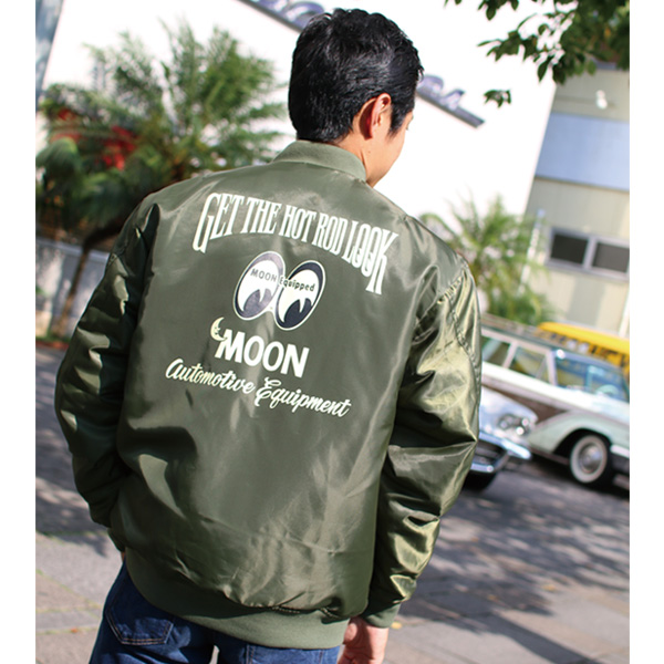 MOON Equipped MA-1 Jacket