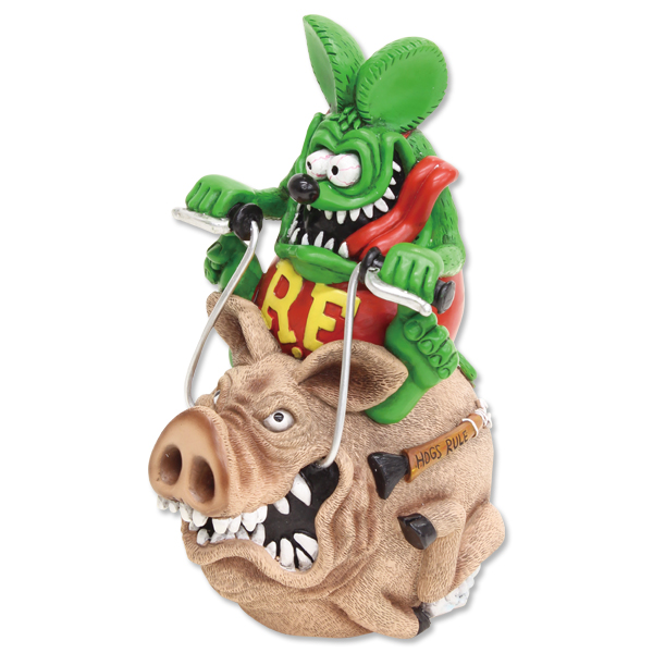 Rat Fink Hog Ride Coin Bank
