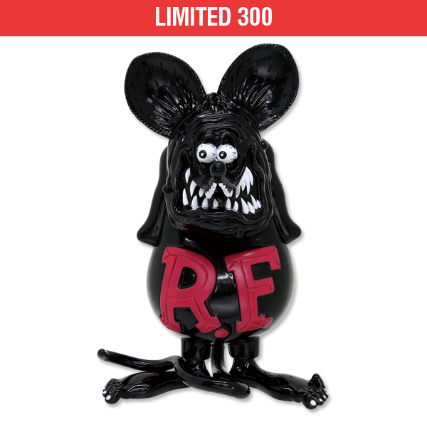 【Limited 300】Rat Fink Soft Vinyl Doll