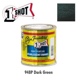 画像: ダーク グリーン 948P 1 Shot Paint パールカラー 237ml