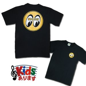 画像: MOON EYEBALL T-Shirts Black from USA