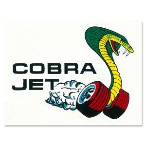 画像: HOT ROD ノスタルジック ステッカー COBRA JET ウィンドー デカール