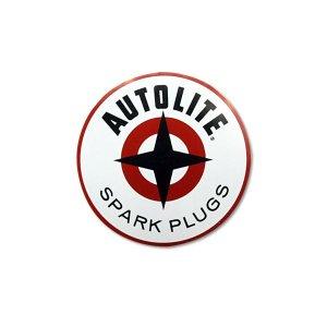 画像: ホットロッド ステッカー AUTOLITE SPARK ステッカー 6.5インチ