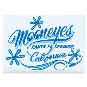 画像: MOONEYES California Pinstripe Sticker ブルー