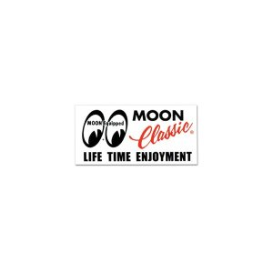 画像: MOON Classic ロゴ ステッカー