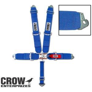 画像: スタンダード ラッチ & リンク CROW シートベルト<フロア マウント>(CROW1104)
