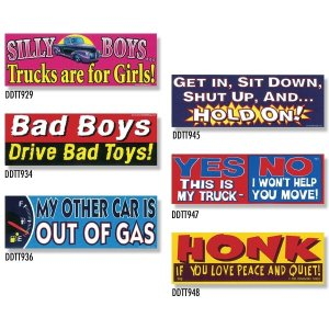 画像: Bumper Stickers -5 (DDTT-5)