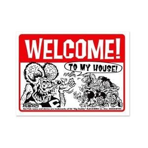 画像: Rat Fink メッセージ ボード Welcome