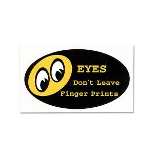 画像: Don't Leave Finger Prints ステッカー