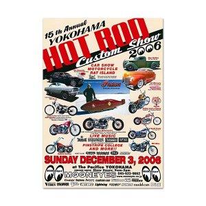 画像: 15th YOKOHAMA HOT ROD・Custom Show 2006 ポスター